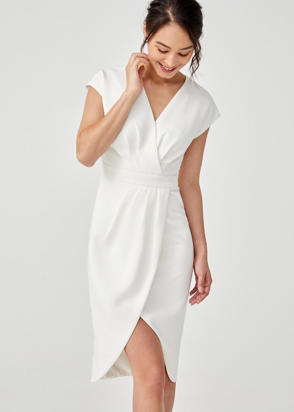 Valerie Tulip Midi Dress