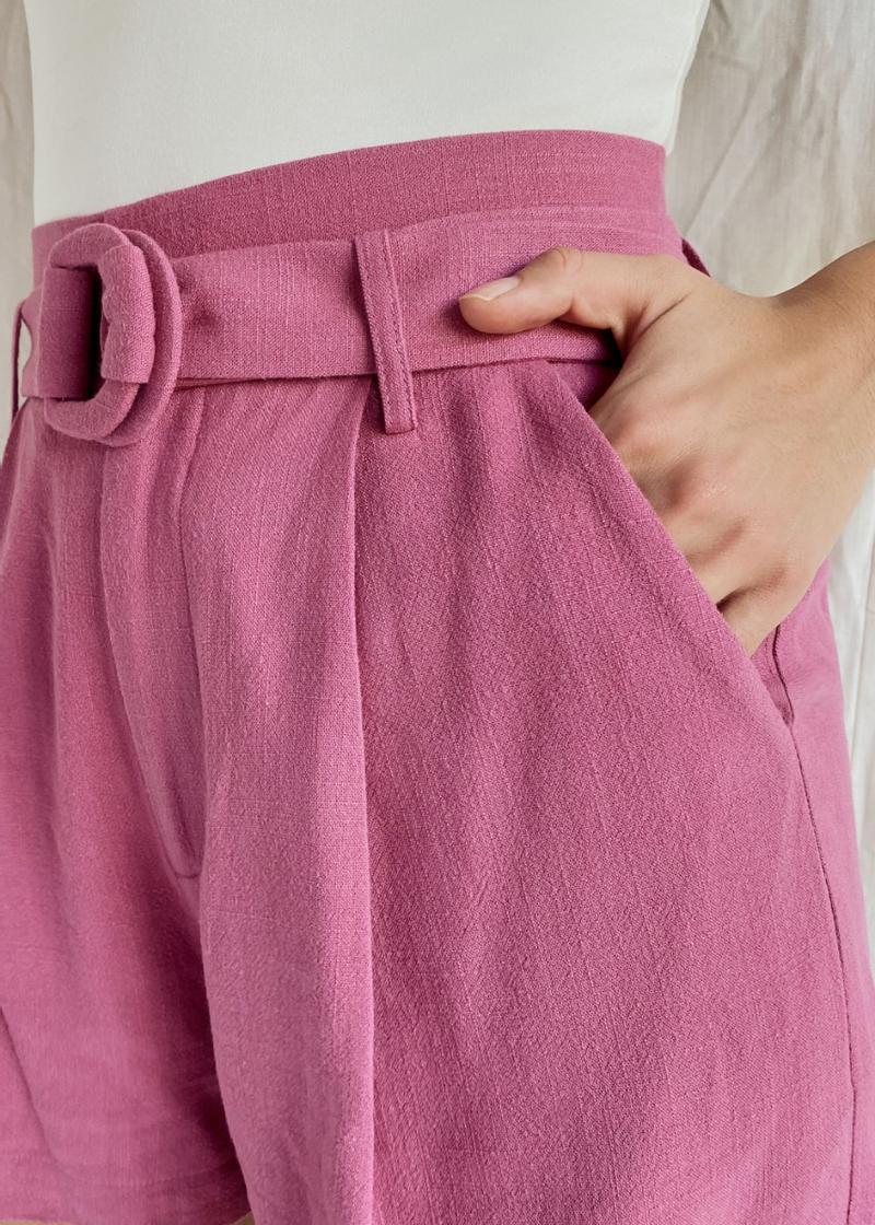 Oaklee Belted Shorts