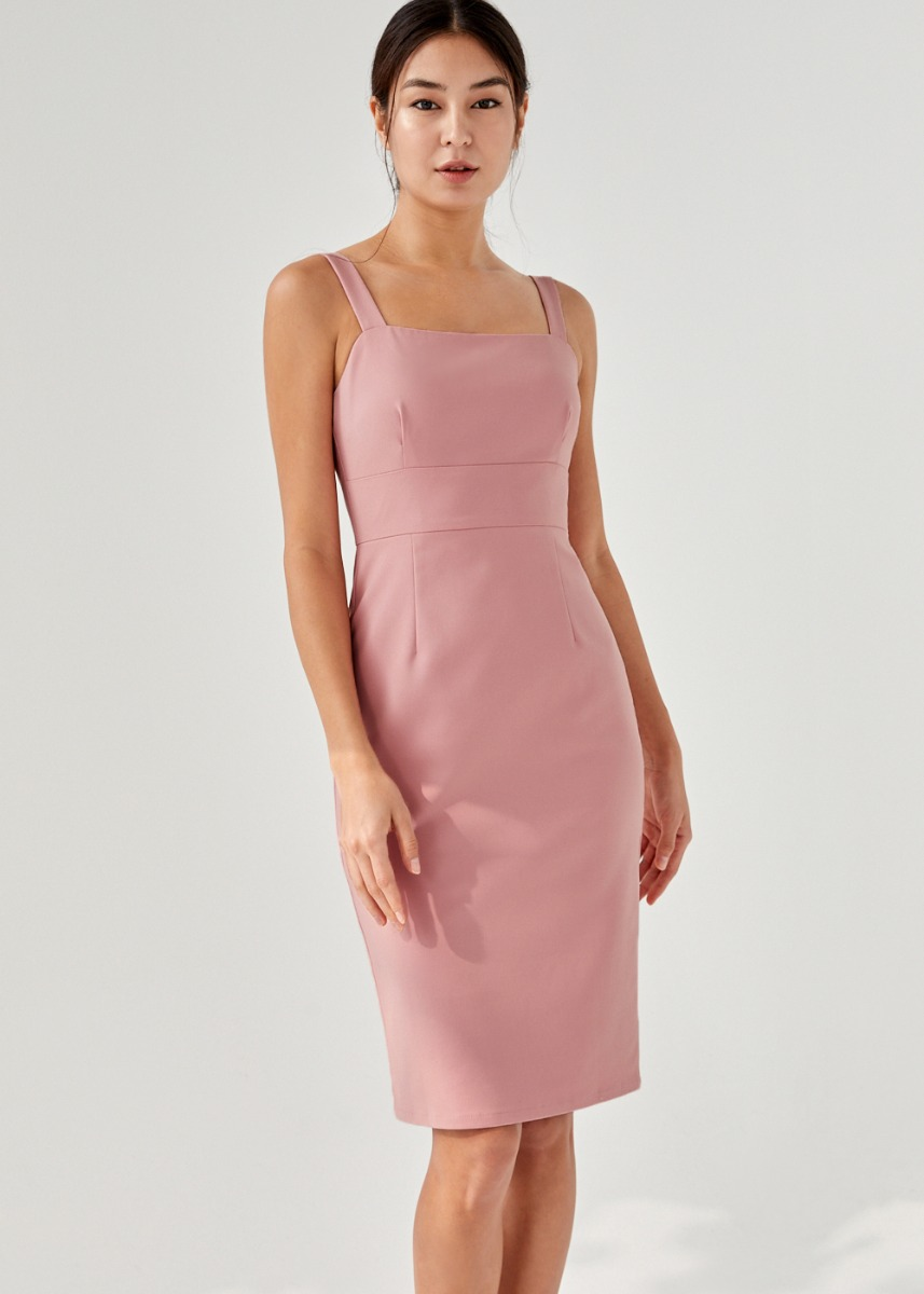 Lia Panelled Pencil Dress