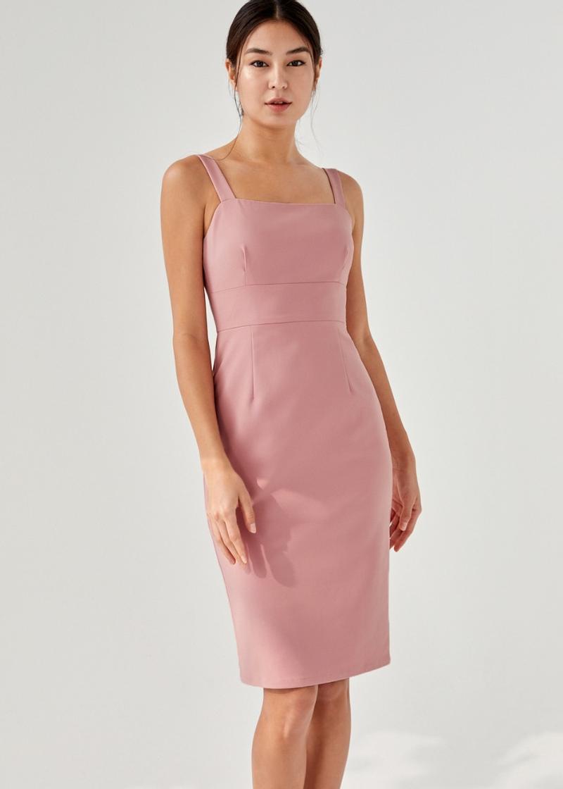 Lia Panelled Pencil Dress