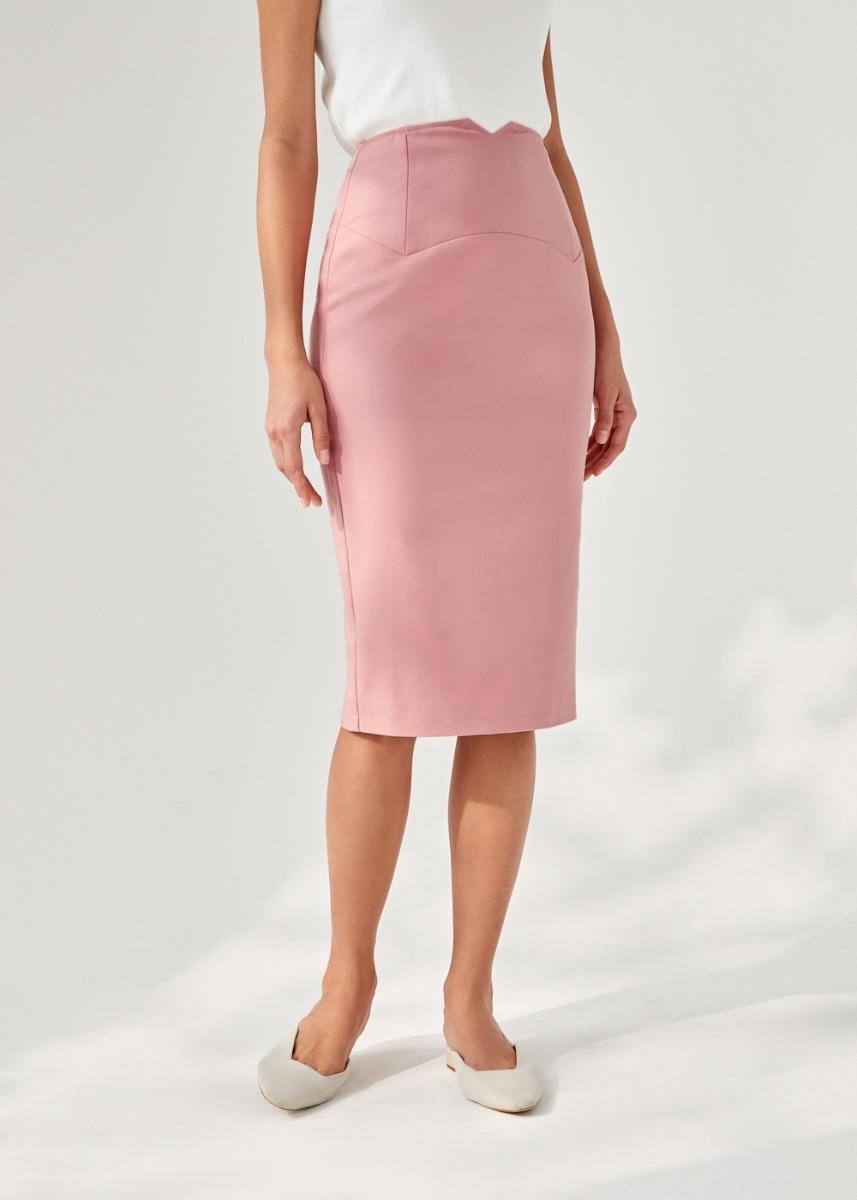 Tracy Pencil Midi Skirt