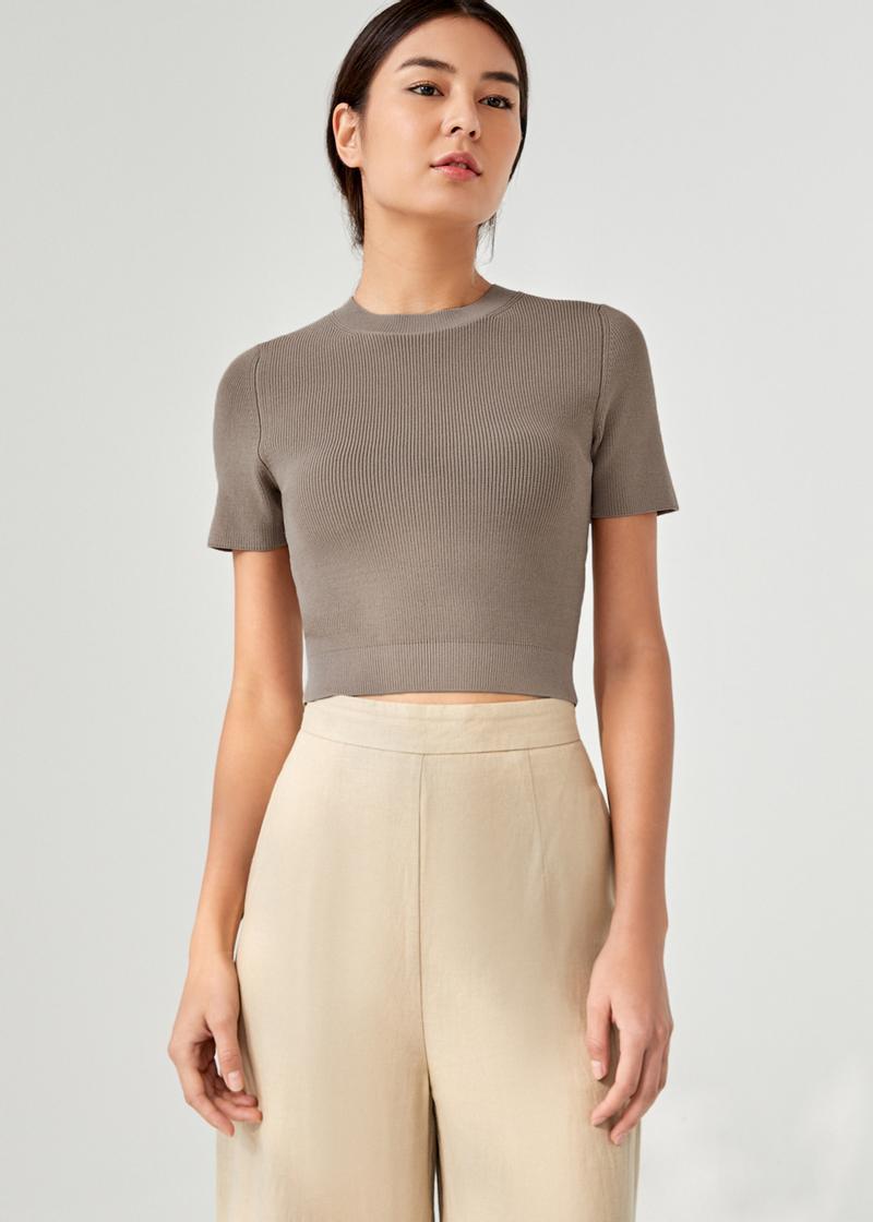 Amaia Knit Crop Top