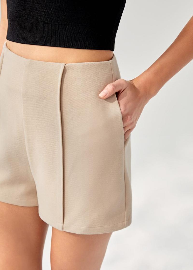 Keilanie High Waist Shorts
