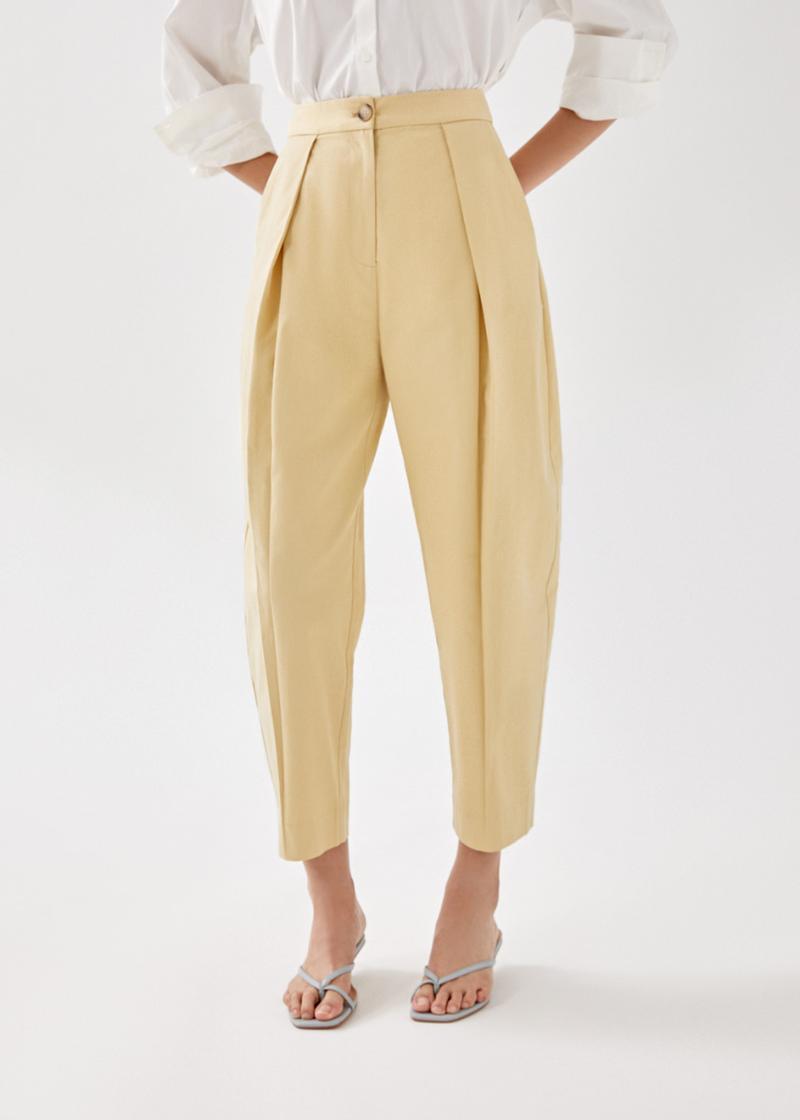 Yael Barrel Trousers