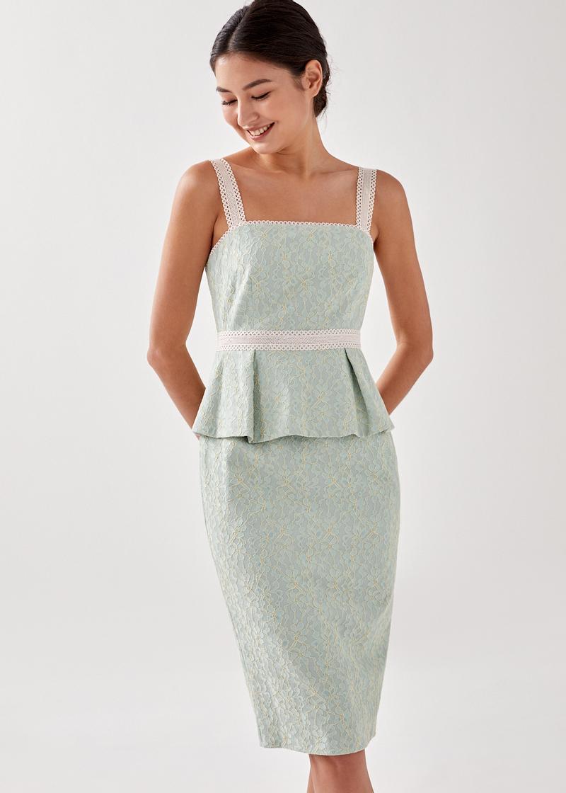 Wedia Lace Bodycon Dress