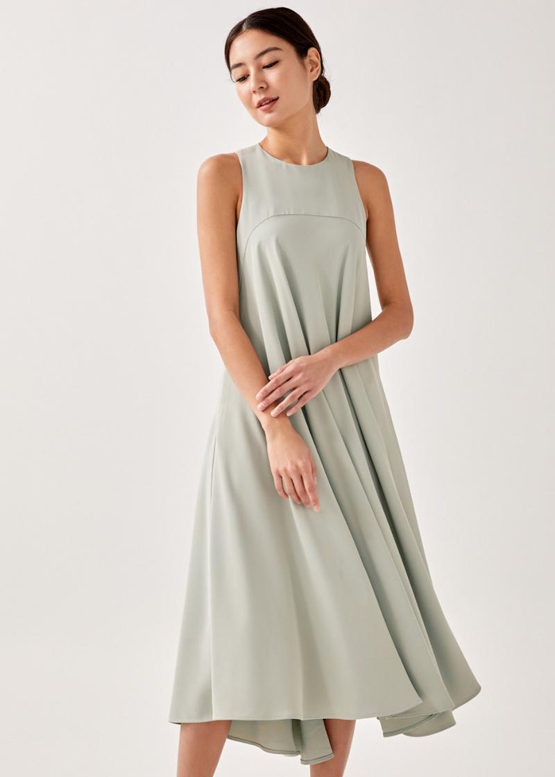 Cora High Low Hem Midaxi Dress