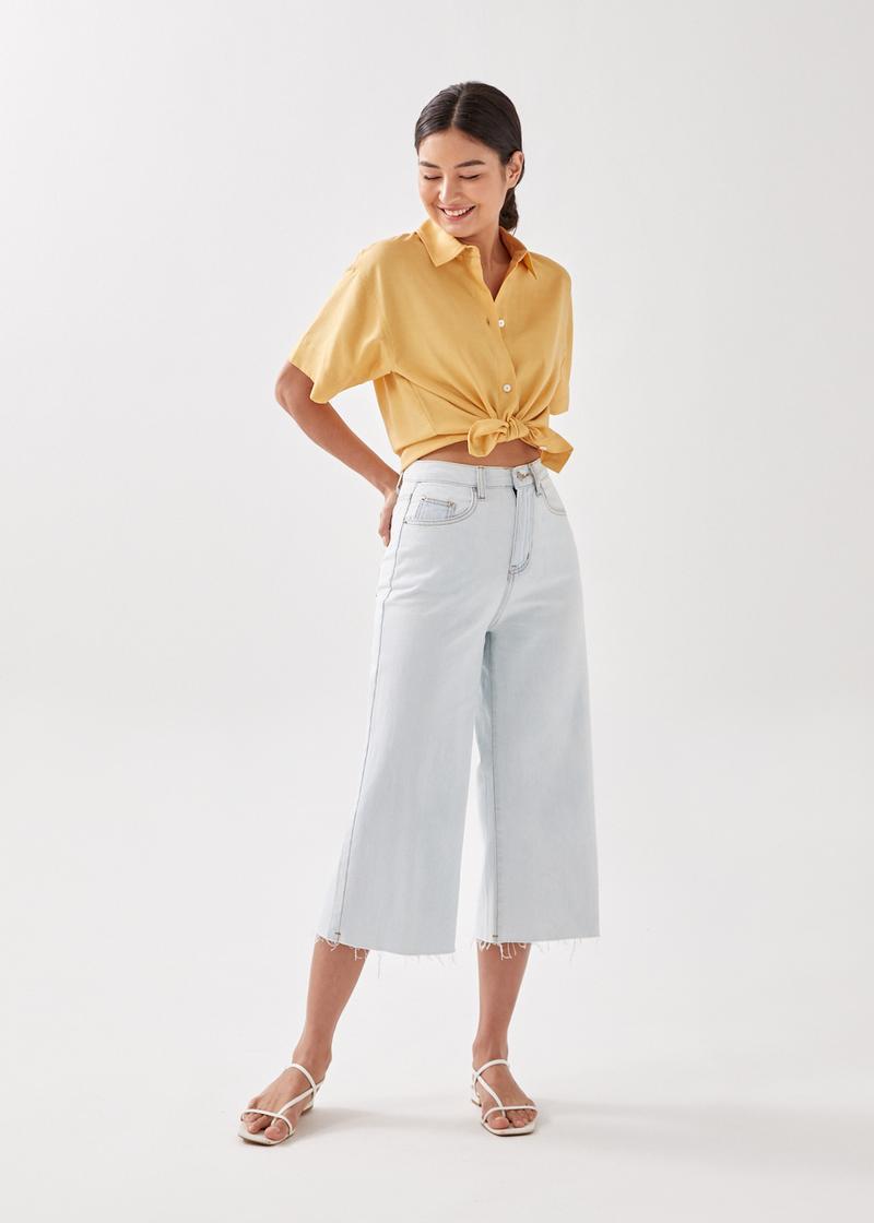 Bailey Relaxed Linen-blend Shirt