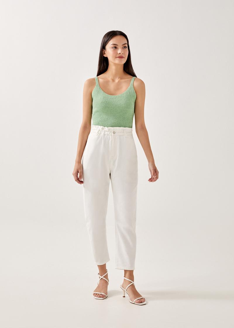 Teyla Paperbag Waist Jeans