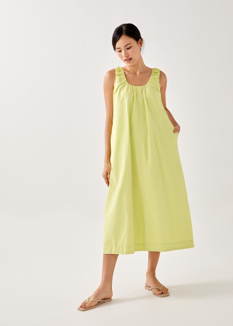Lumi Multi-Way Cotton Midaxi Dress