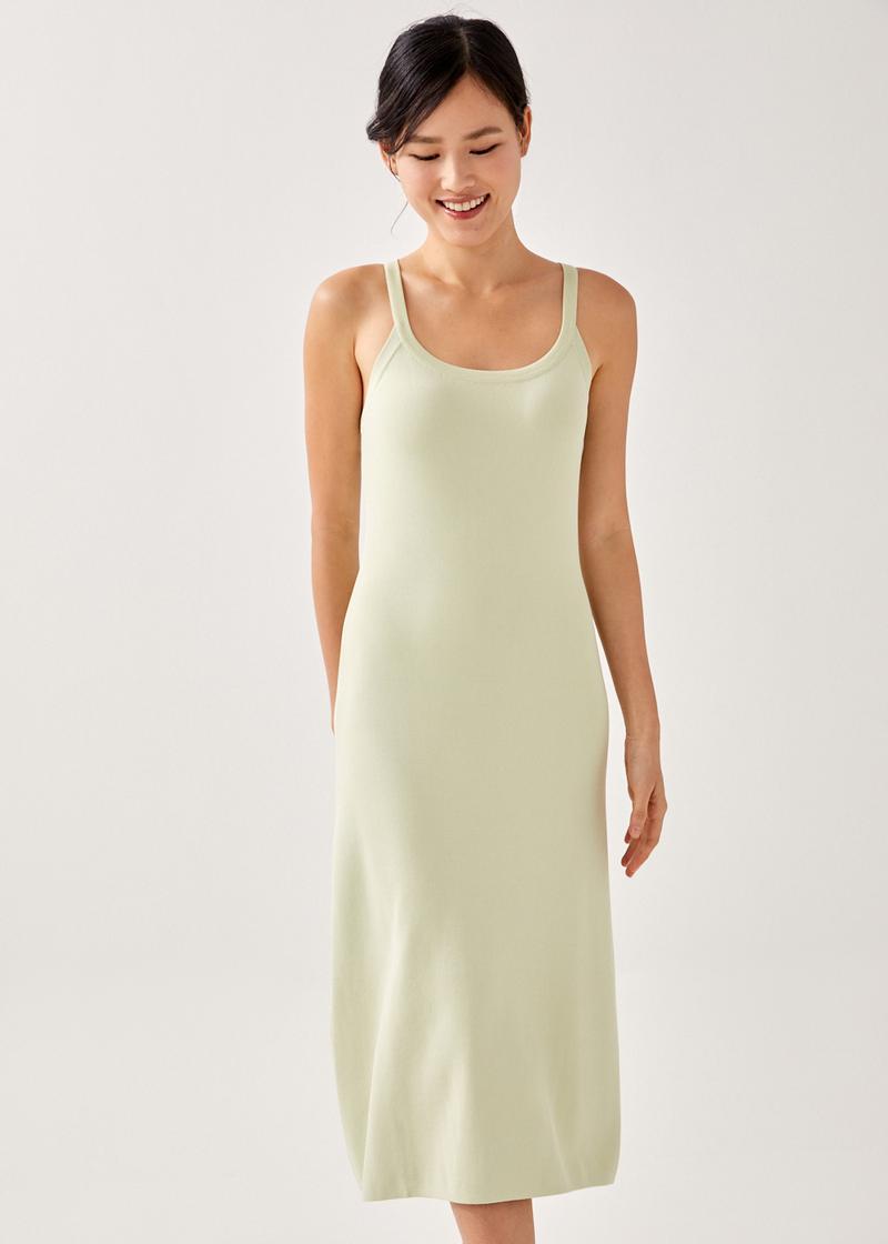 Senka Knitted Tank Dress
