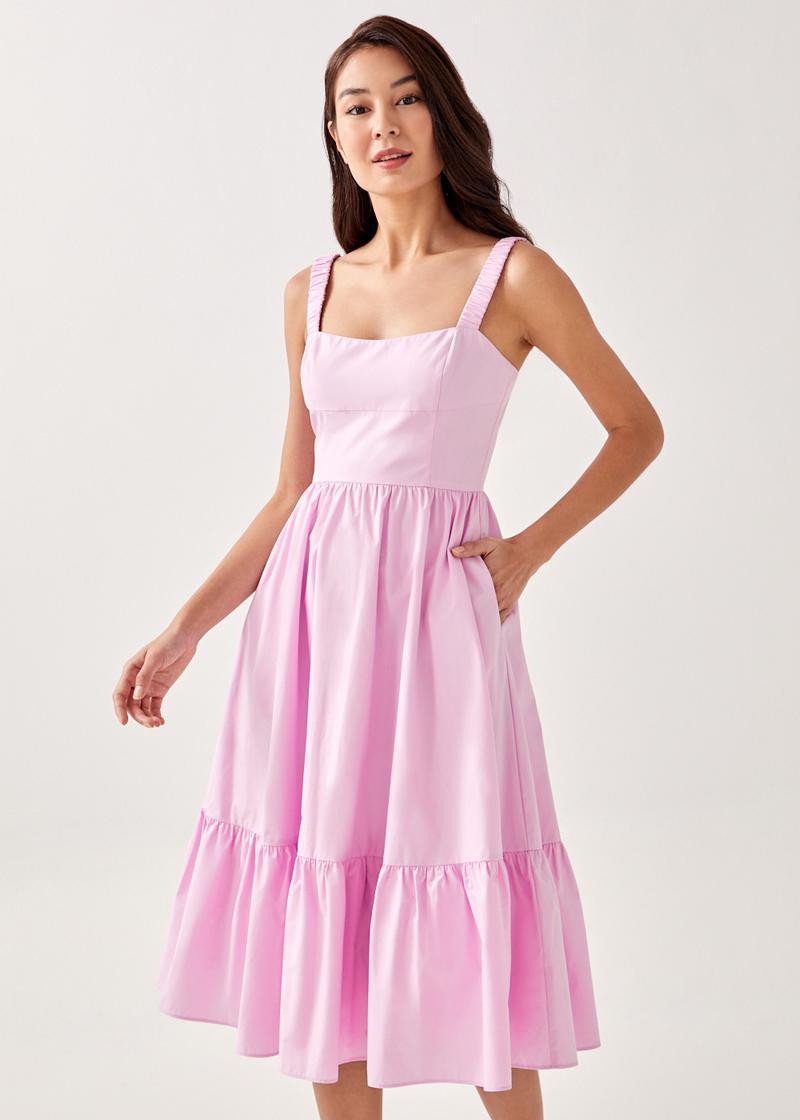 Mayra Bustier Midi Dress
