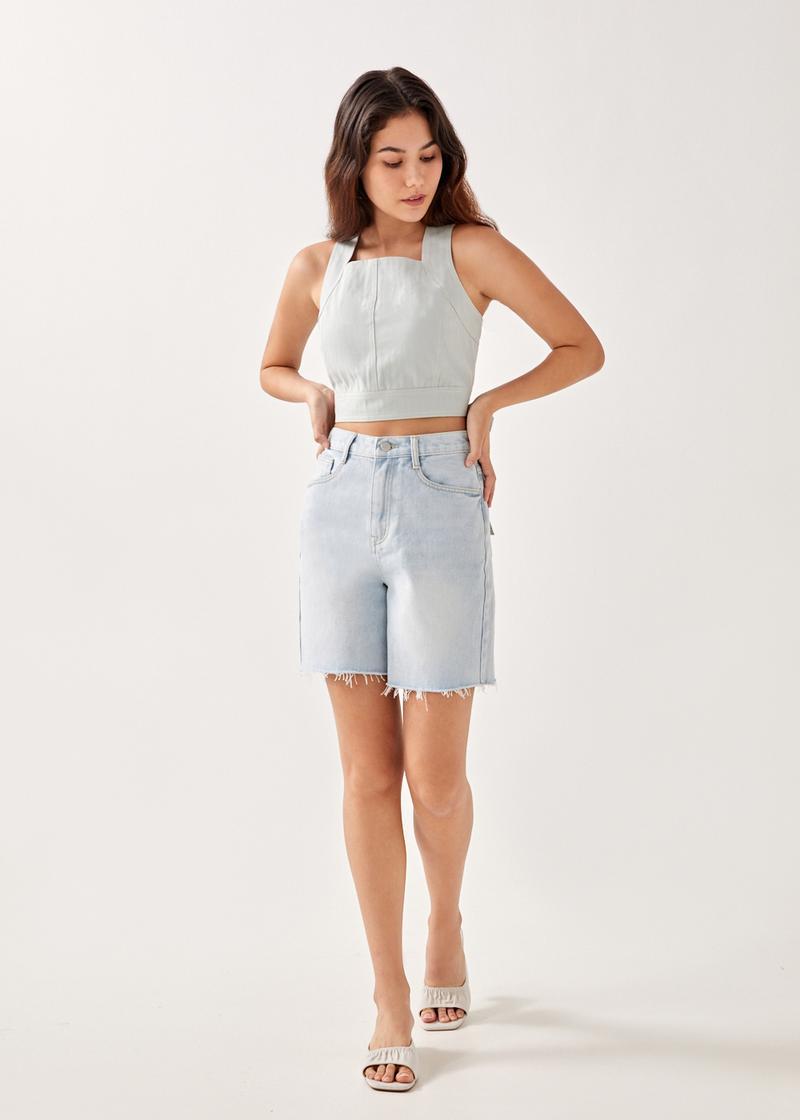 Briony Boyfriend Denim Shorts