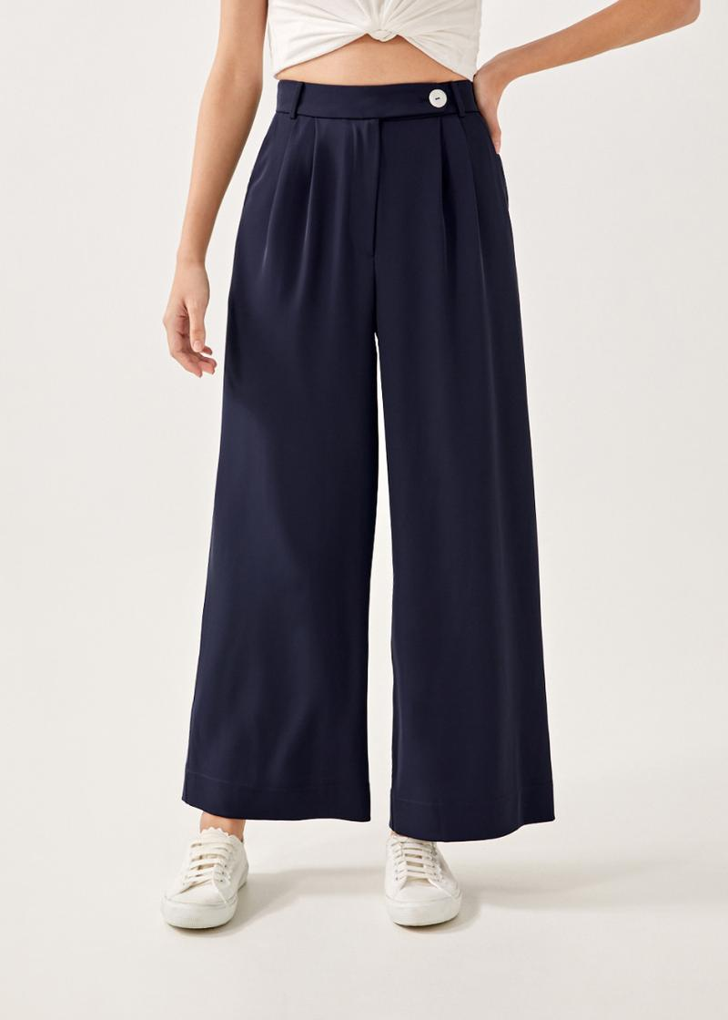 Baley Tailored Wide Leg Pants