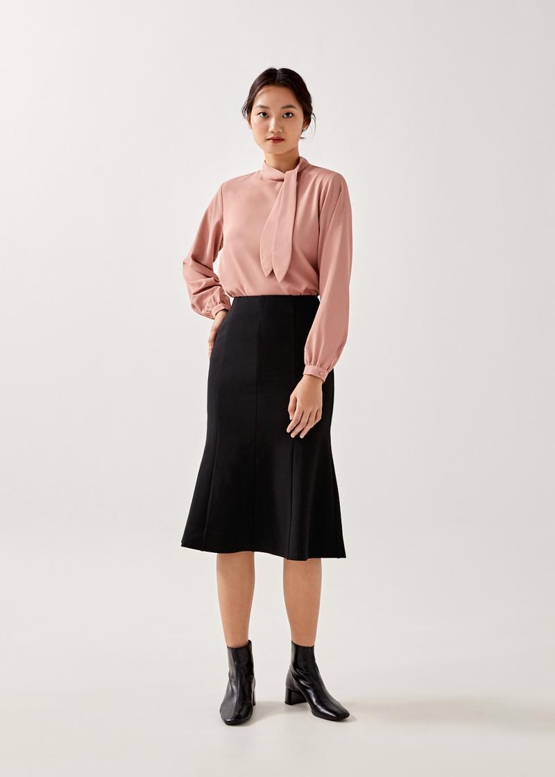 Karlie Trumpet Midi Skirt