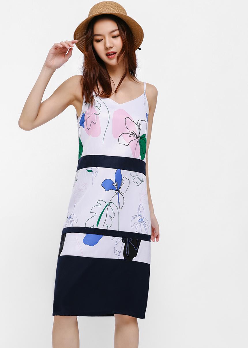 Oriane Camisole Midi Dress