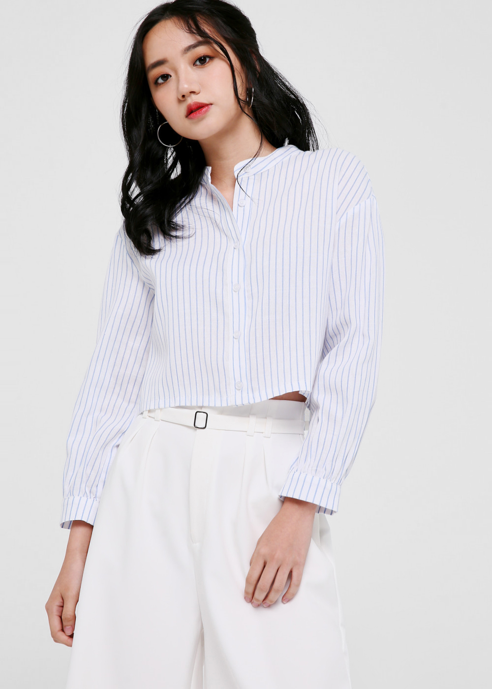 Zephyr Pinstripe Button-Down Shirt