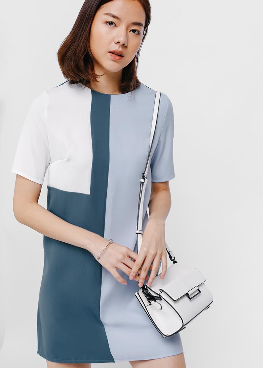 Adarie Colourblock Shift Dress