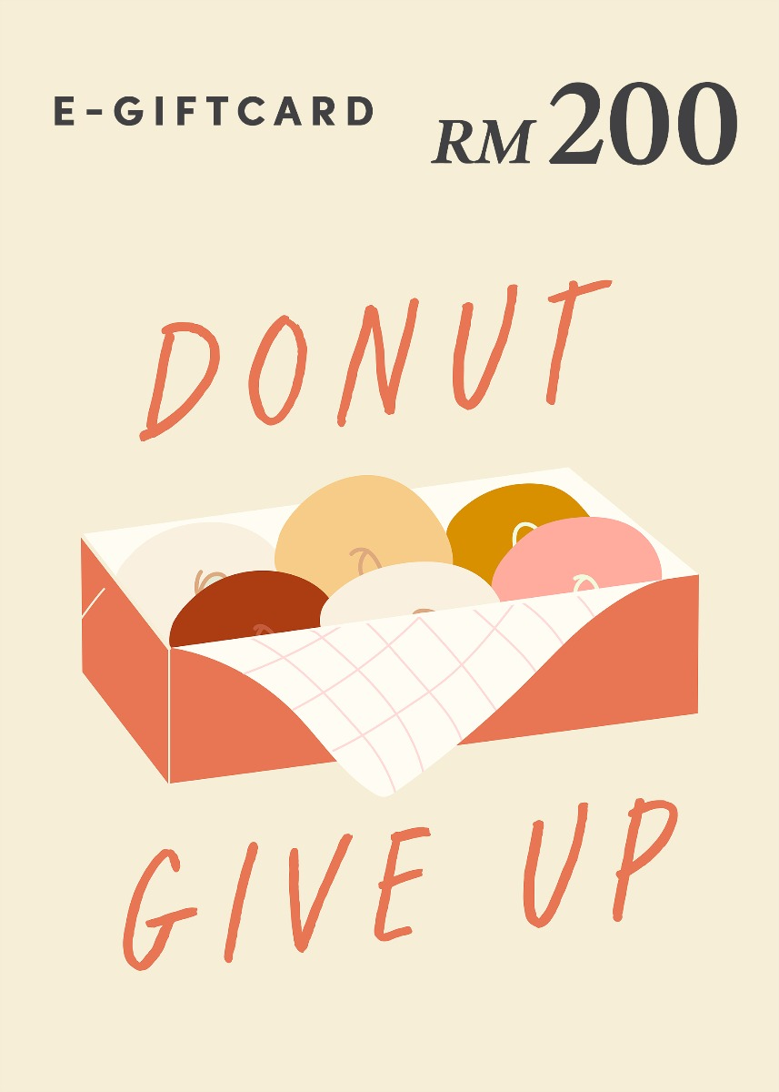 Love, Bonito e-Gift Card - Donut Give Up! - RM200