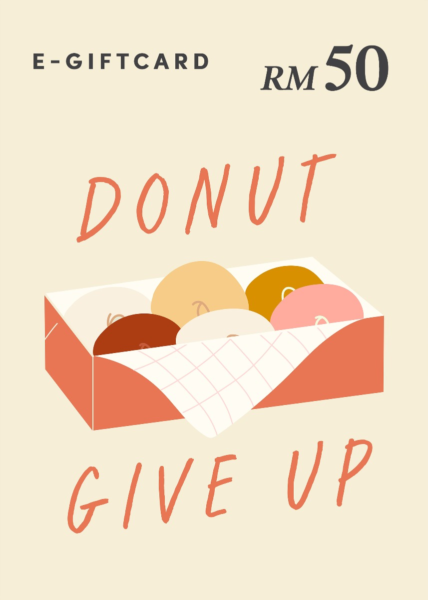Love, Bonito e-Gift Card - Donut Give Up! - RM50