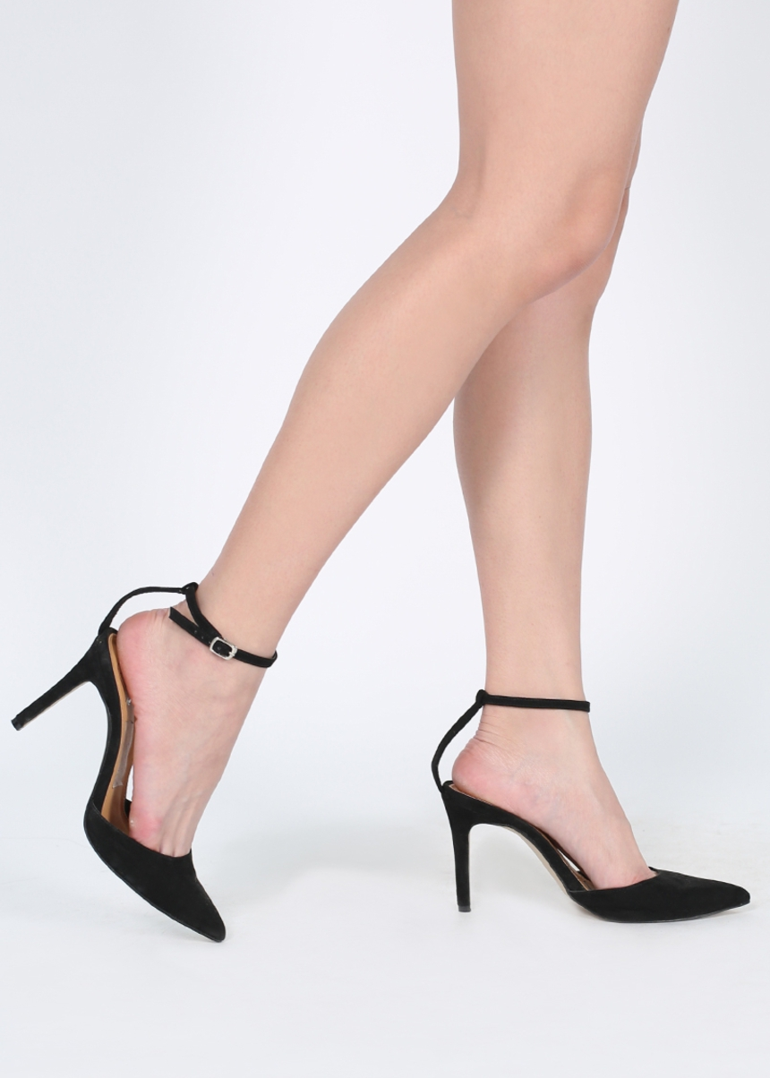 Hachi Ankle Strap Heels
