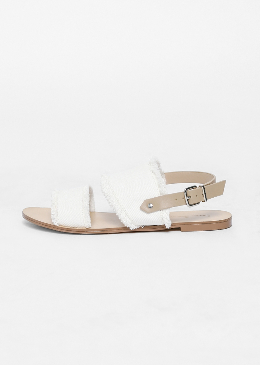 Sevanya Two-Strap Slingback Sandals