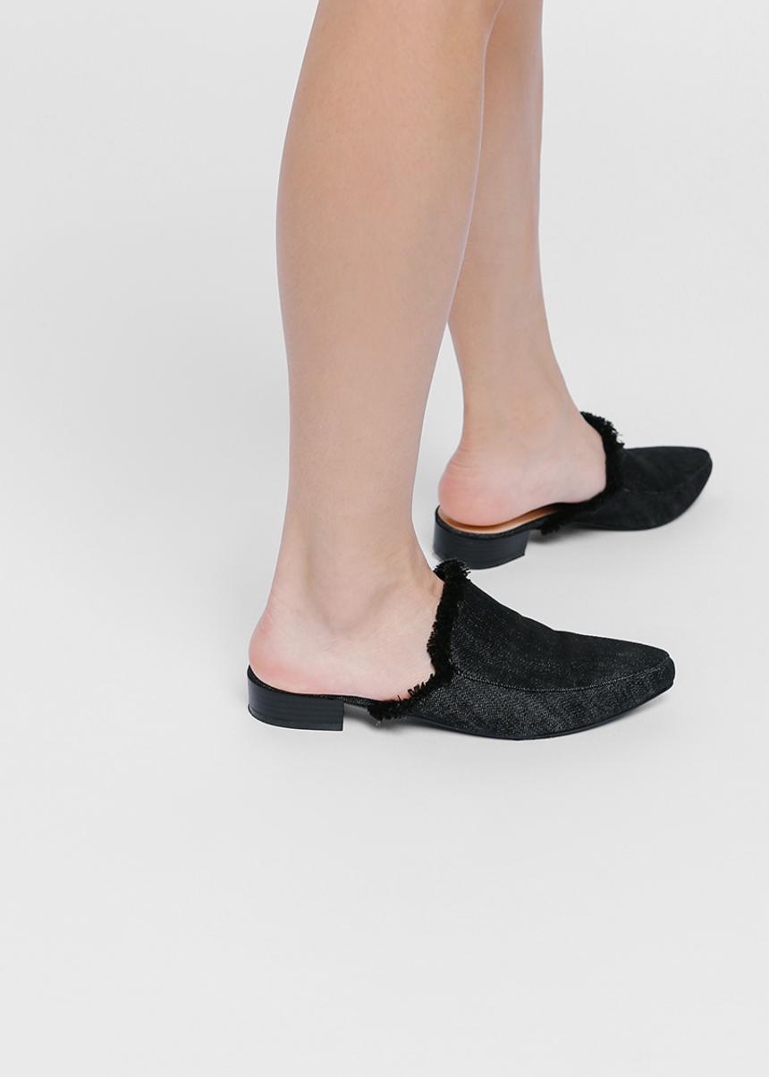 Loana Denim Slip-on Loafers