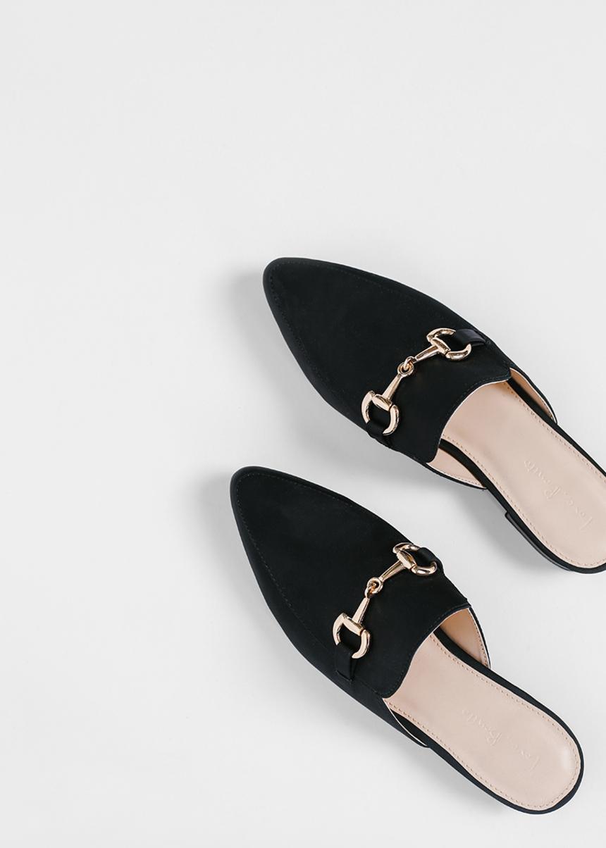 Lenda Chain Link Slip-on Loafers