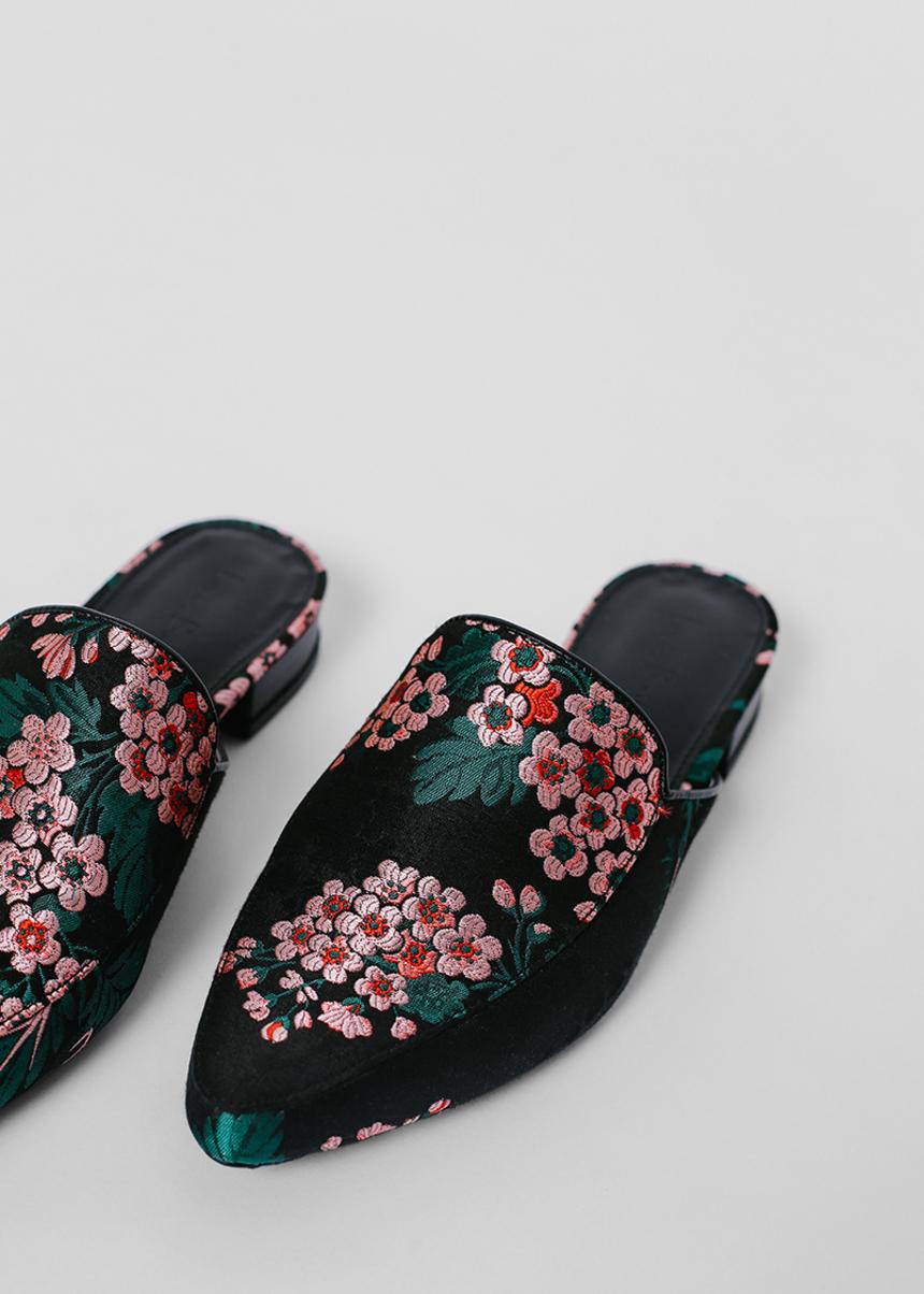 Deuna Jacquard Slip-on Loafers