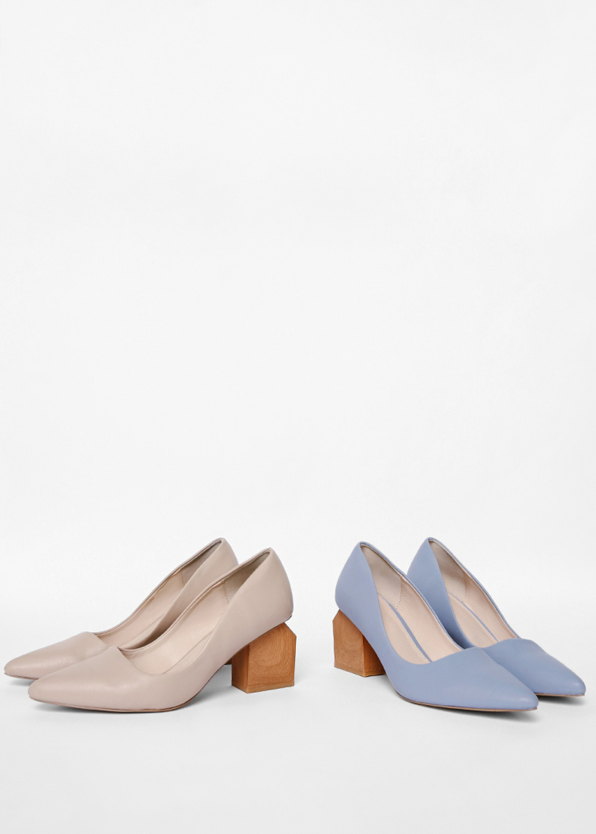 Kraff Block Heel Pumps