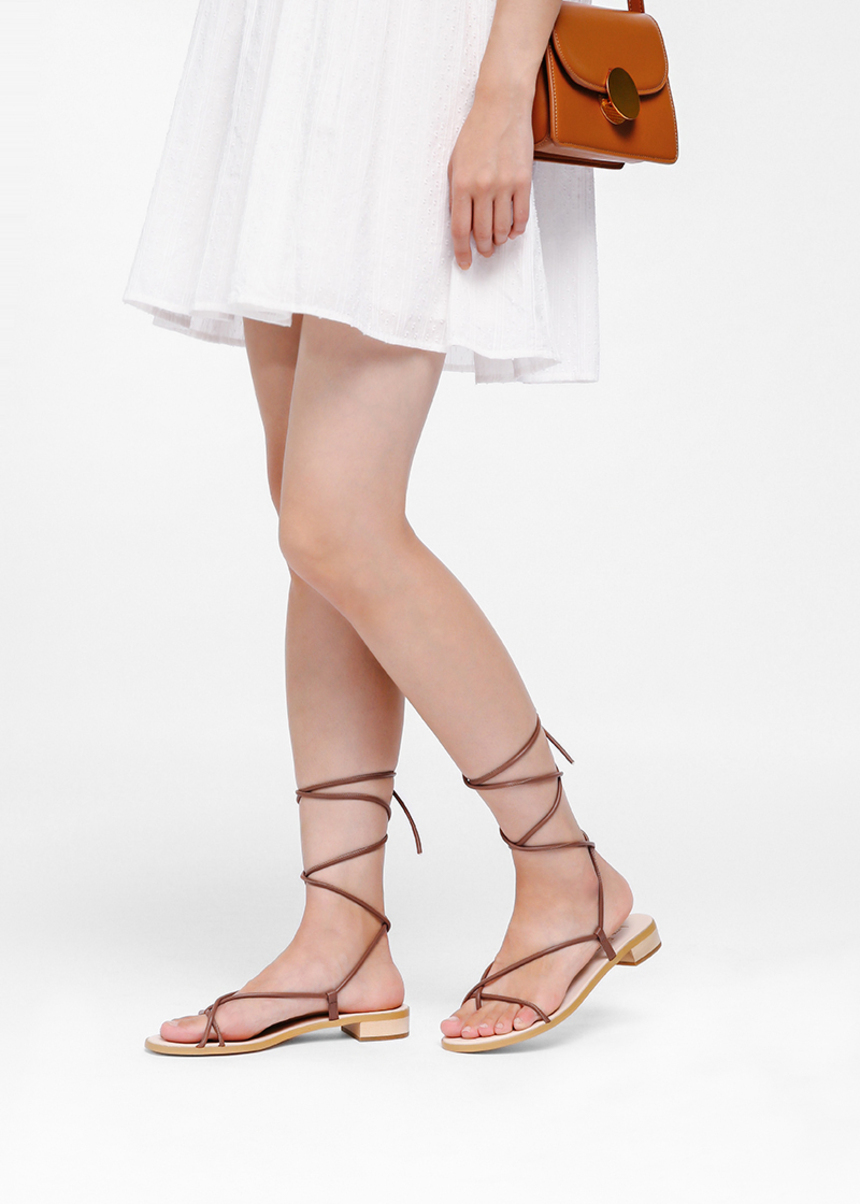 Ginet Lace-up Sandals