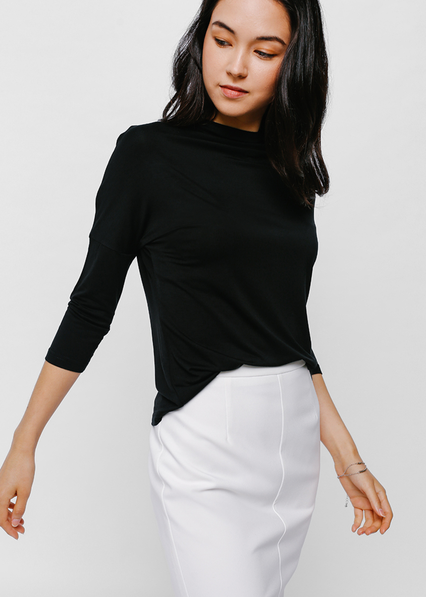 Fresya Funnel Neck Top