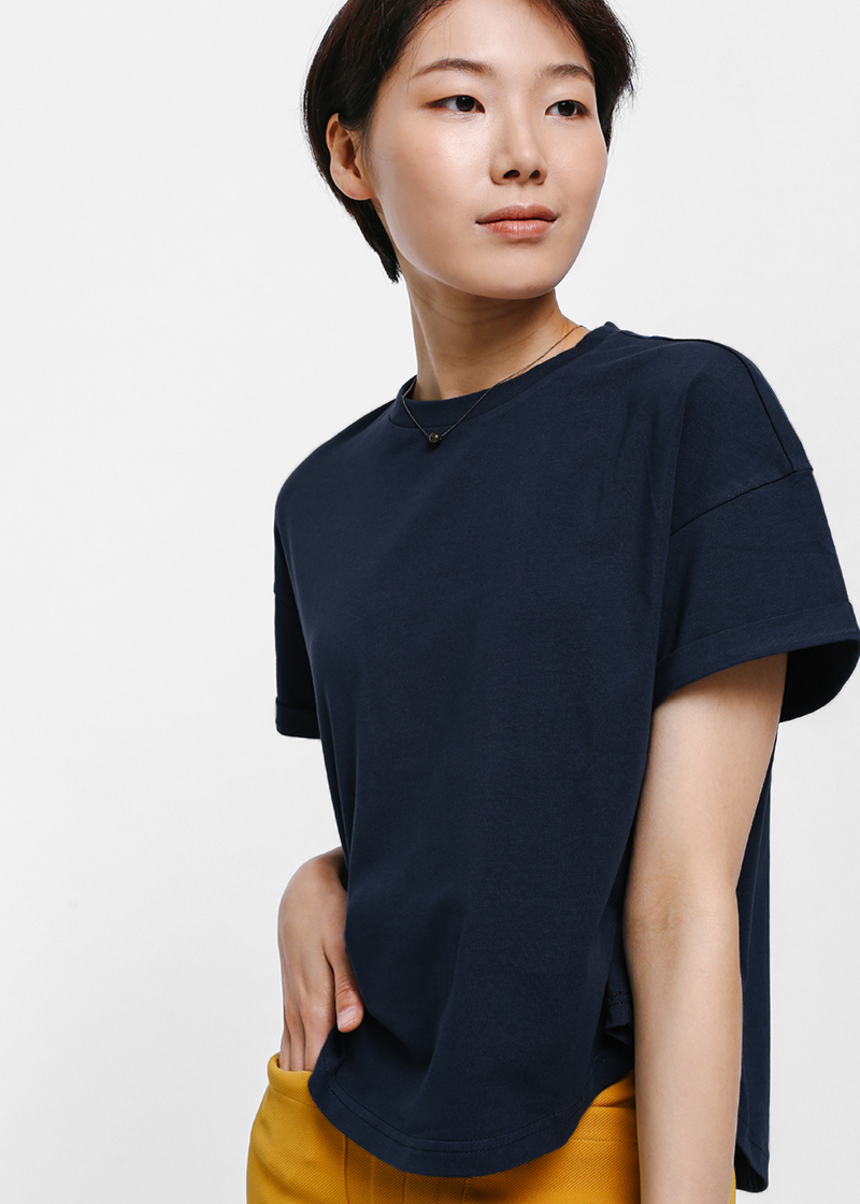 Breaja Scoop Hem T-shirt