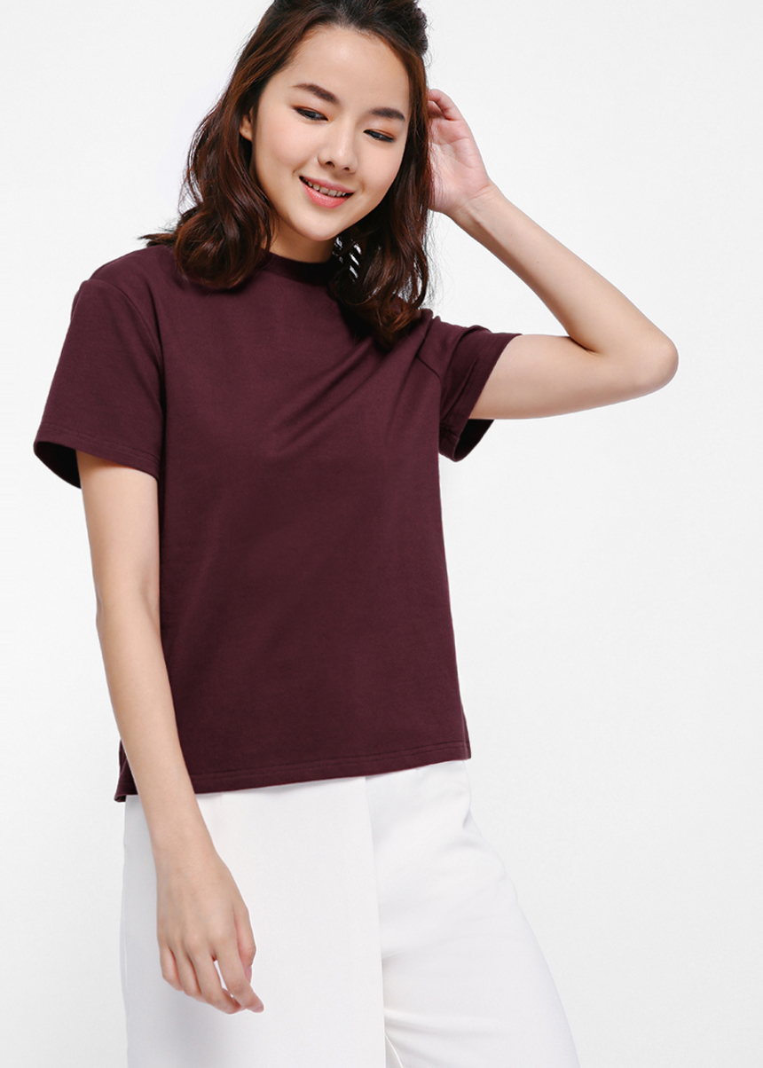 Nolnin High Neck T-shirt