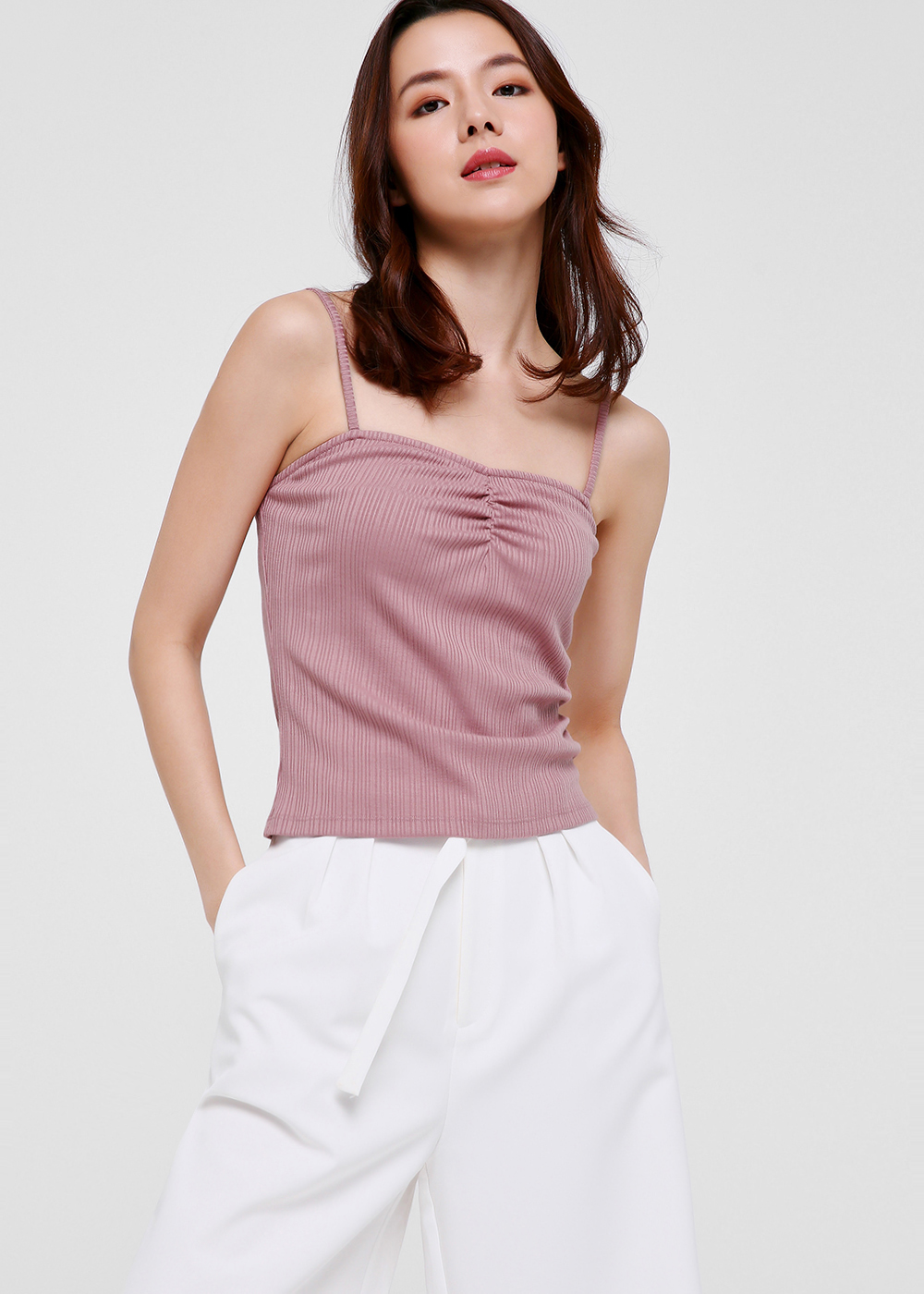 Camila Textured Camisole Top