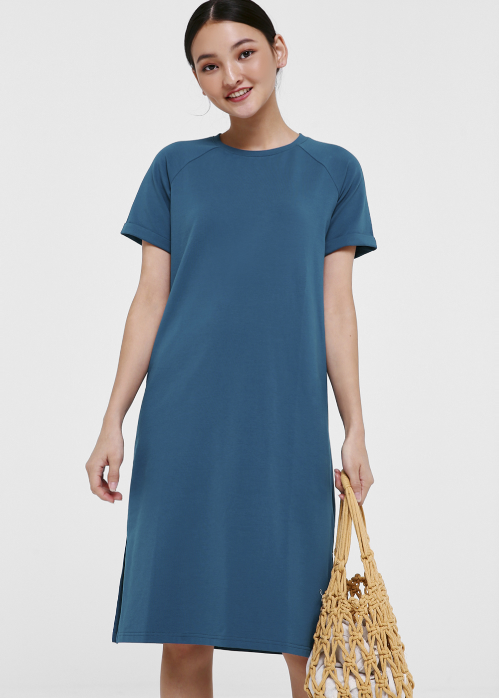 Daya Relaxed Midi T-shirt Dress