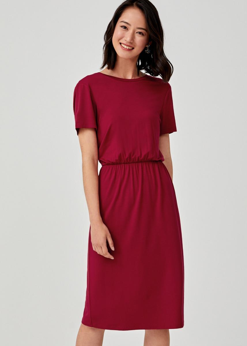Bronte Midi T-shirt Dress