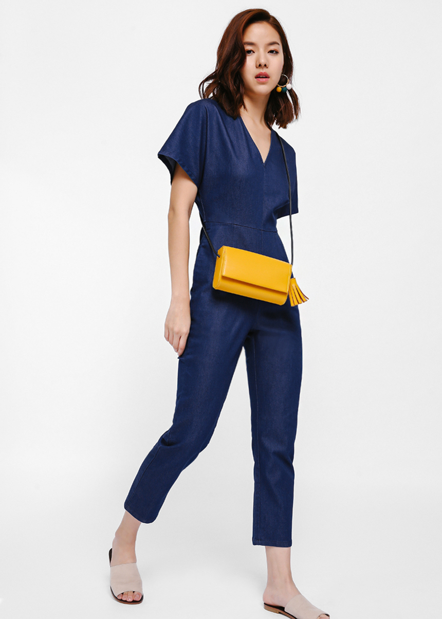 Jernigan Denim Jumpsuit