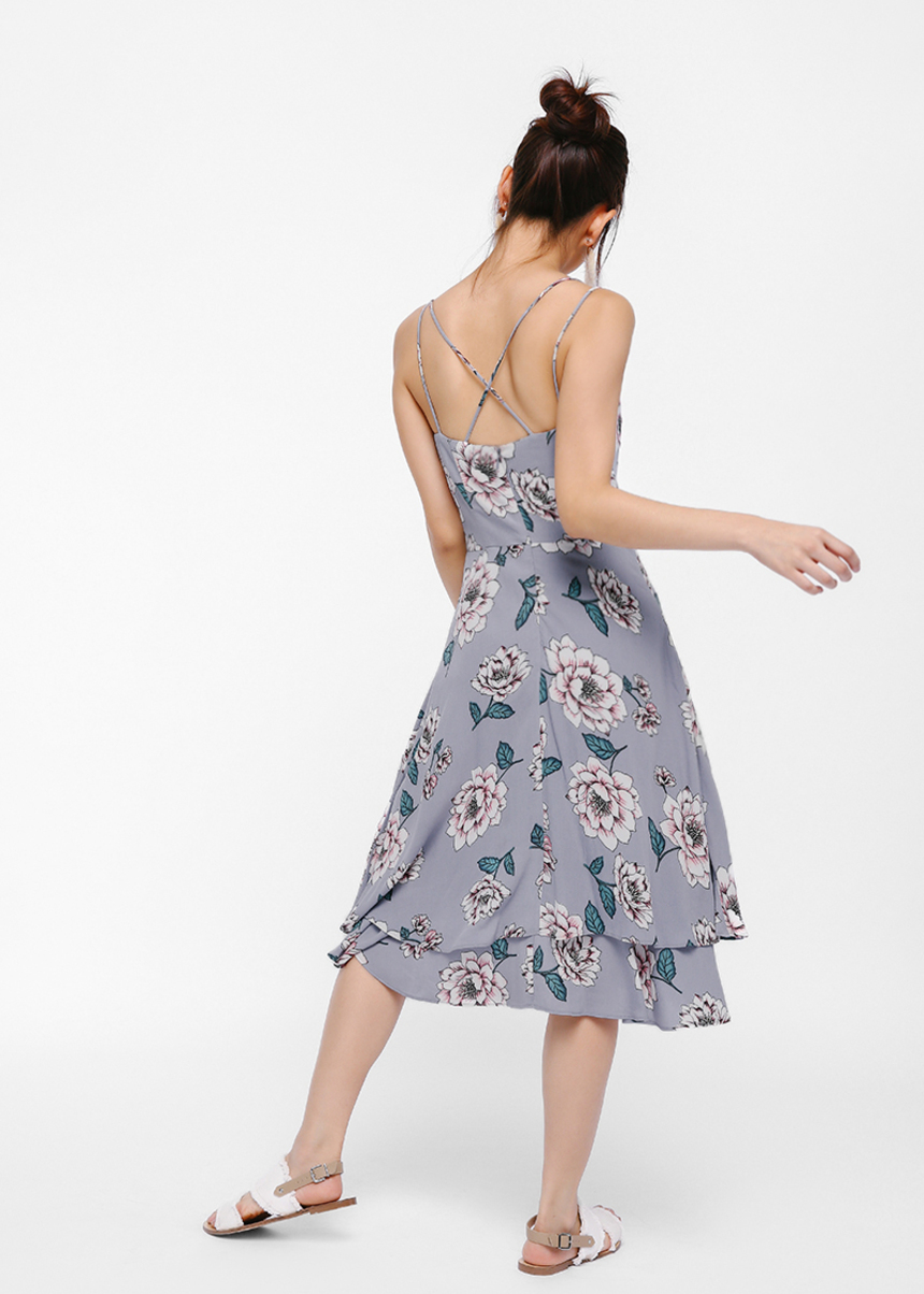 Perzsike Floral Dress