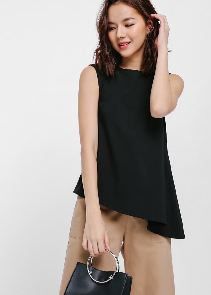 Kabitha Asymmetrical Top