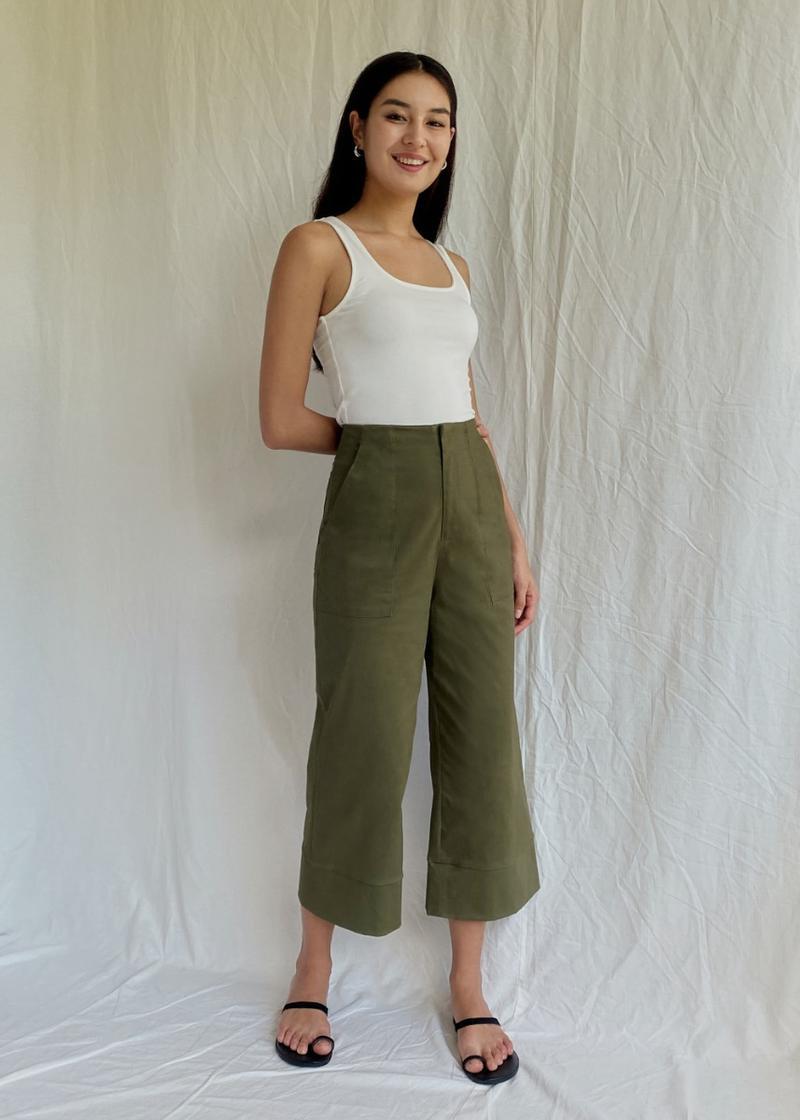 Peanne Wide Leg Culottes
