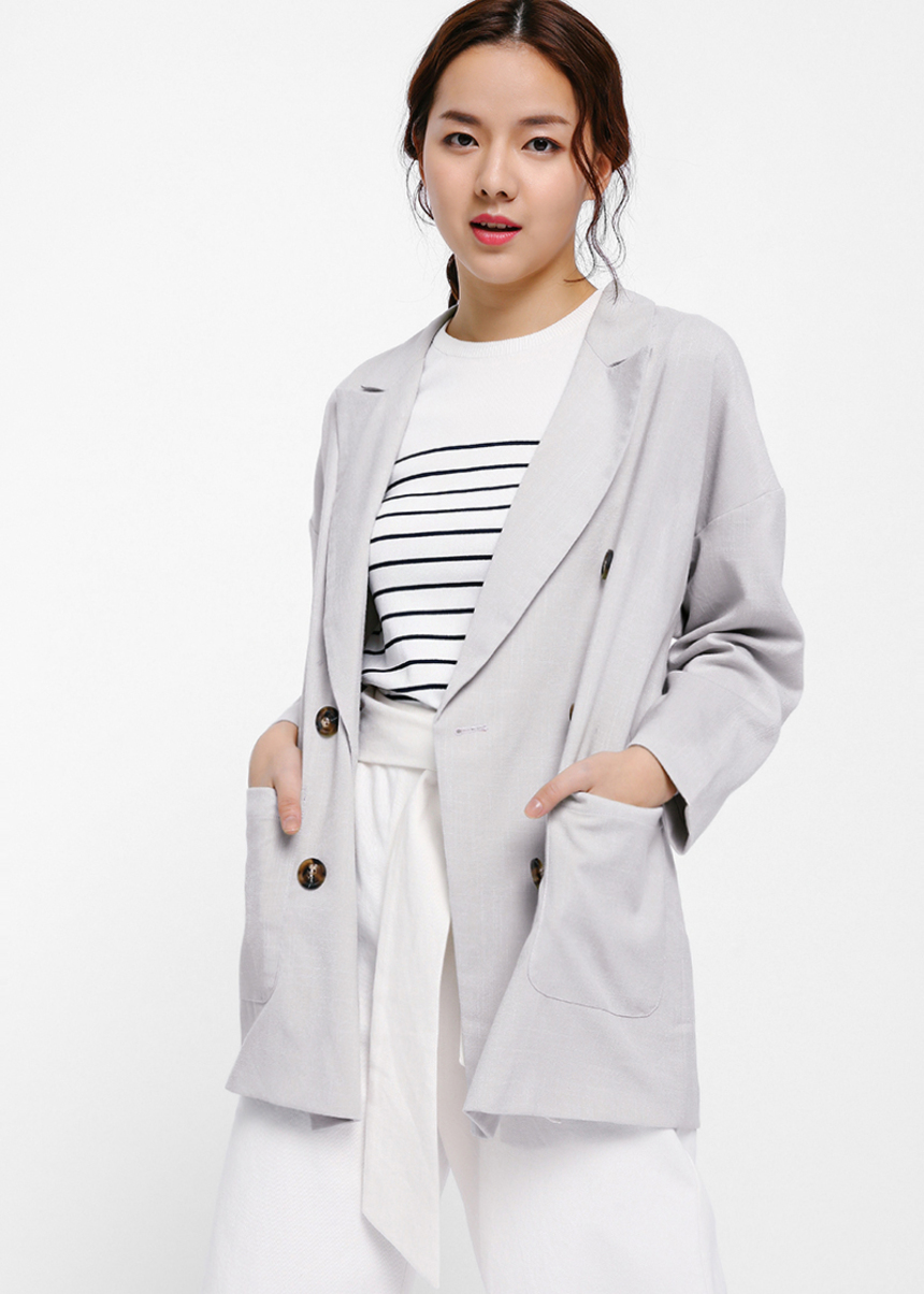 Orelia Oversized Double Breasted Blazer