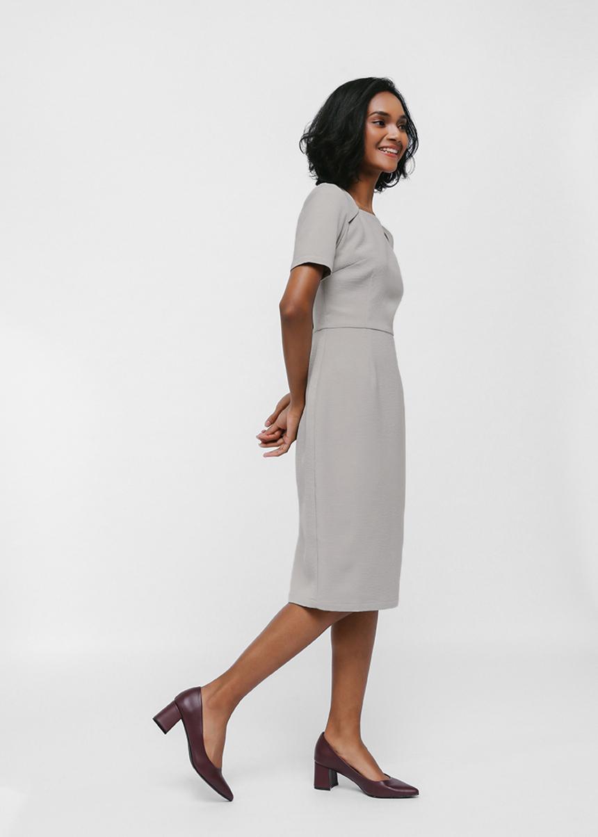 Sonnet Square Neck Midi Dress