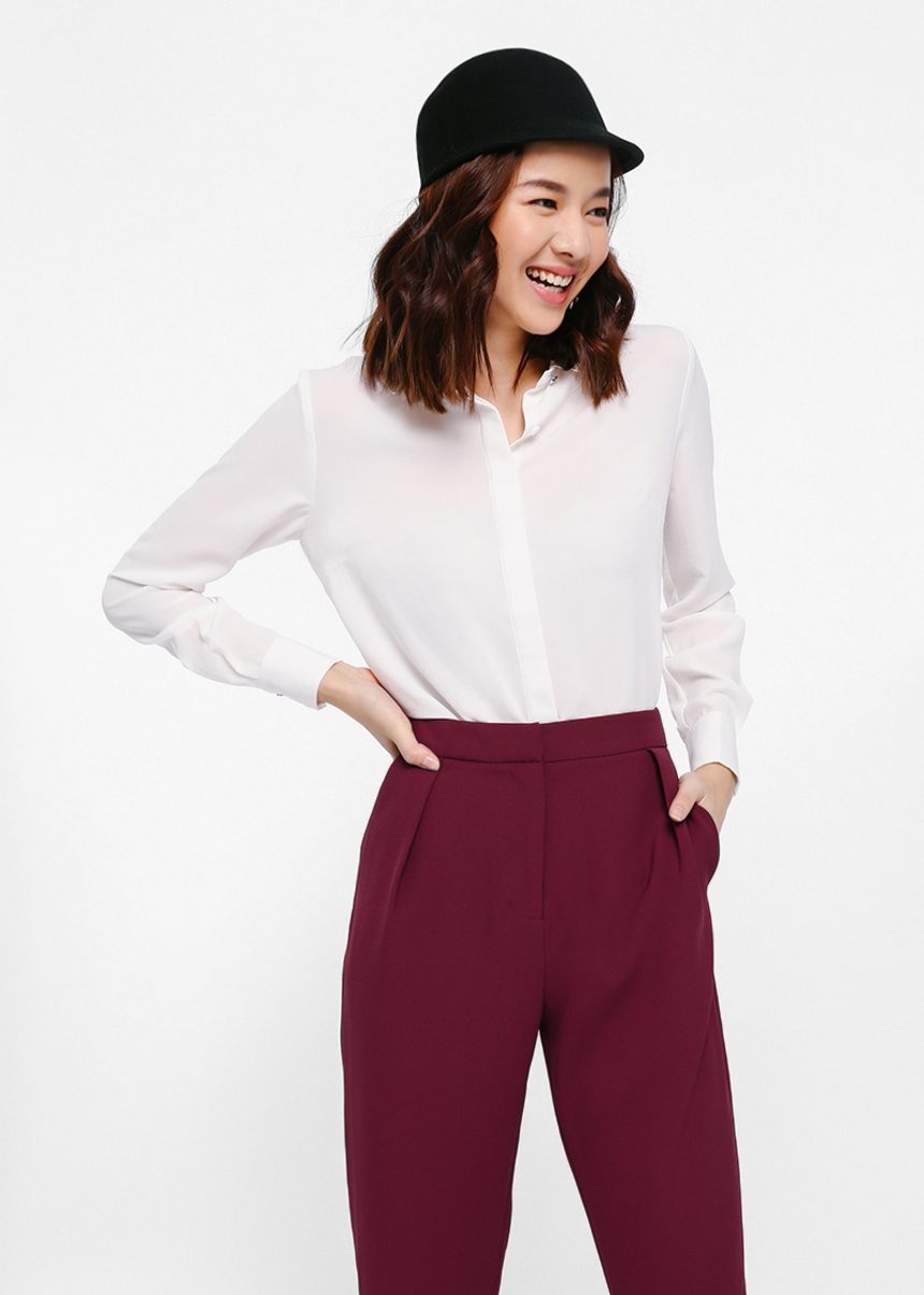 Siesse Scalloped Collar Shirt