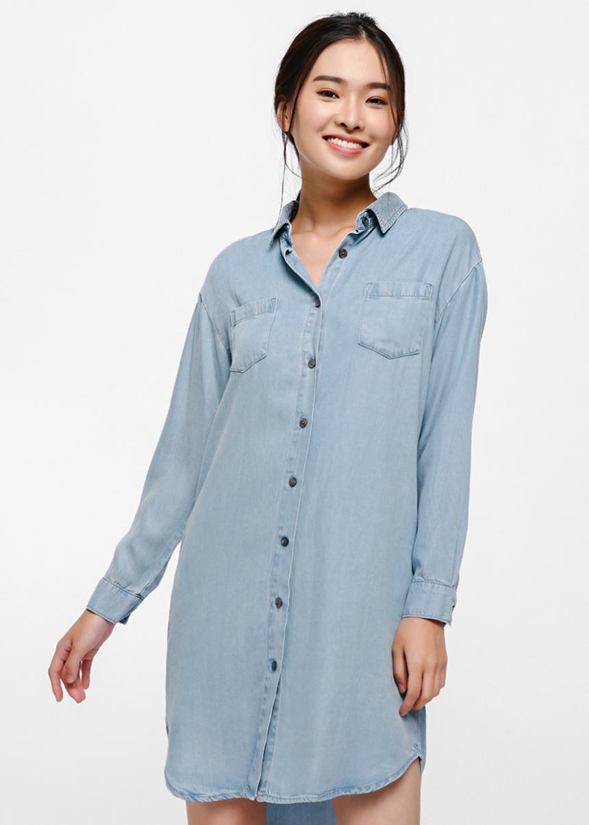 Liv Denim Shirt Dress