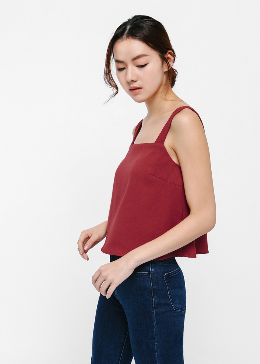 Solange Square Neck Camisole Top