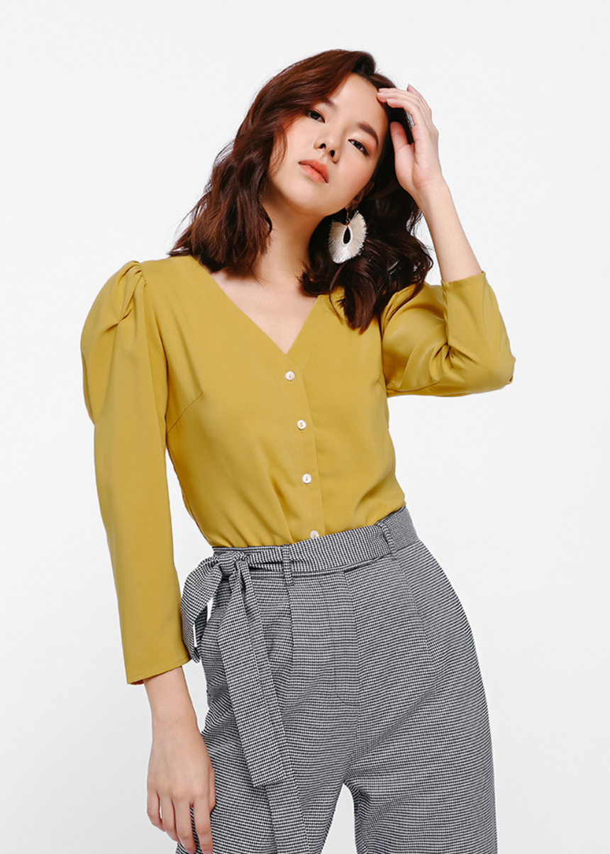 Mille Puff Sleeve Blouse