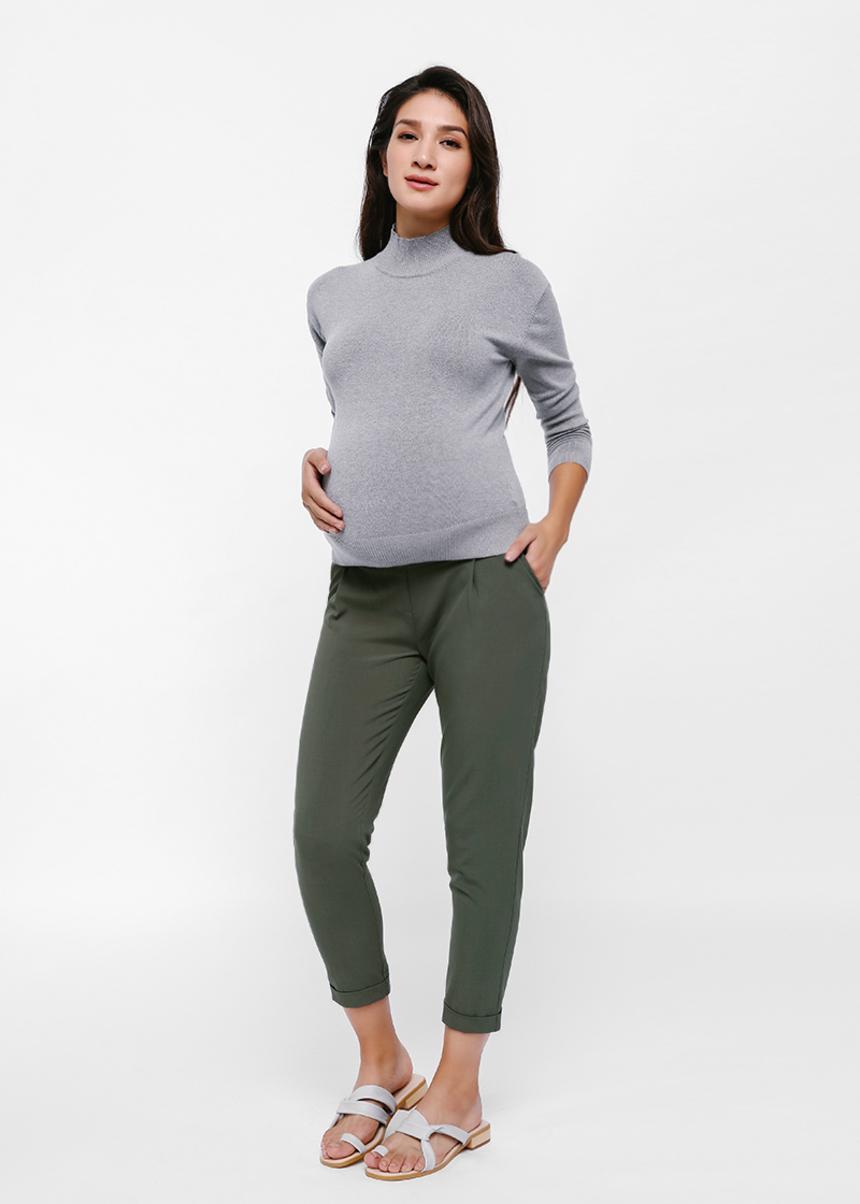 Elodie Elastic Waist Cropped Pants