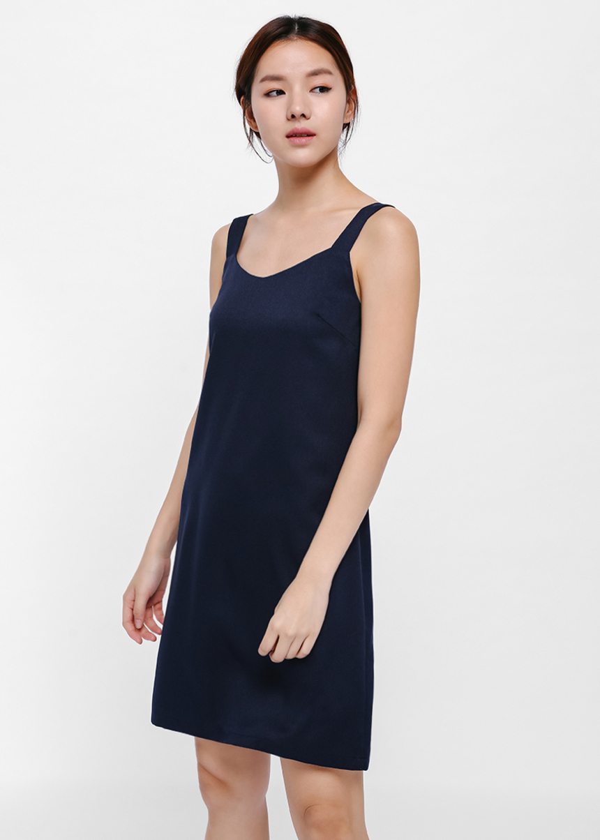 Eugenia V-neck Slip Dress