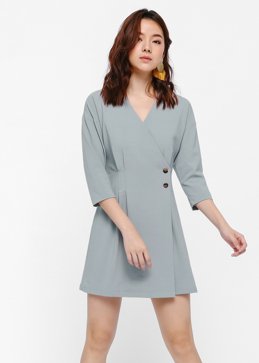 Trillo Crossover Jacket Dress