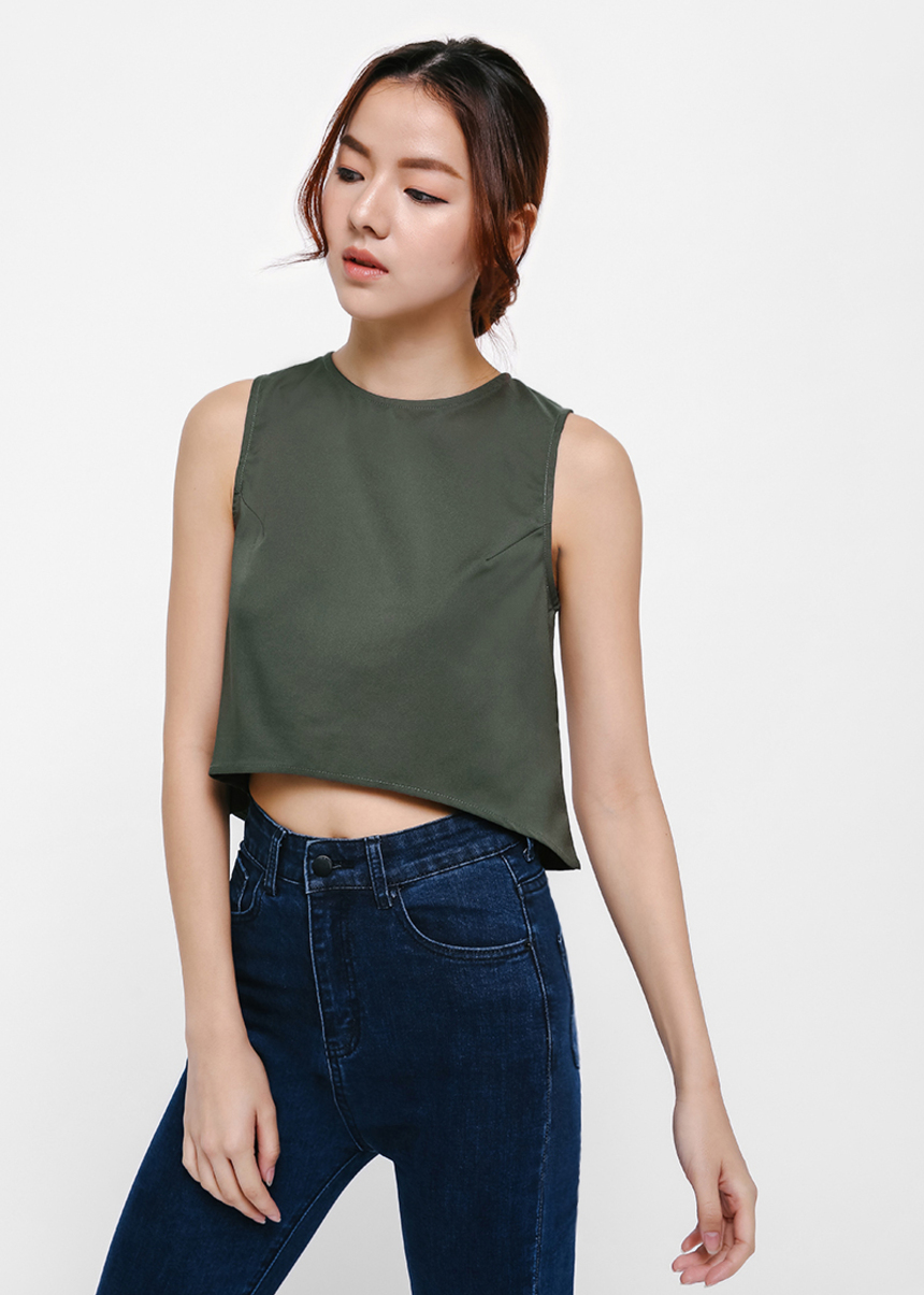 Erika Shell Crop Top
